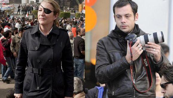 Visitaban un centro de medios de comunicación contrario al régimen. (AP/Reuters)