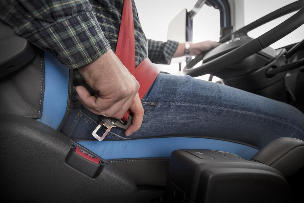 Cinturón de seguridad (Foto: Getty)