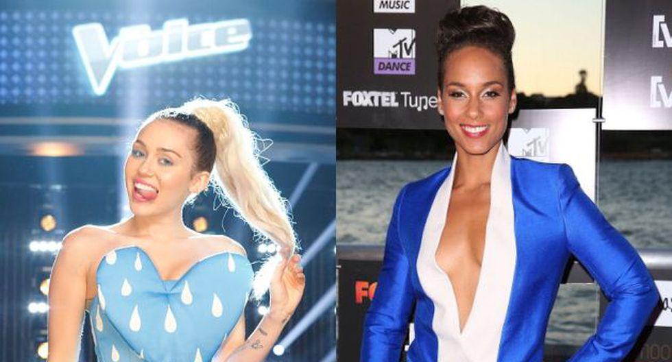 Miley Cyrus y Alicia Keys serán parte del jurado de 'The Voice'. (Getty Images)