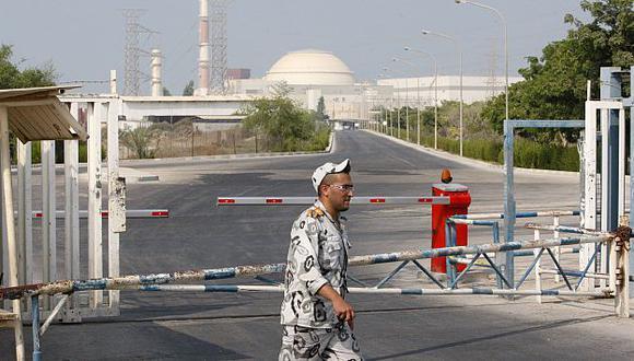 La planta nuclear iraní de Bushehr podría ser uno de los objetivos del ataque israelí. (AP)