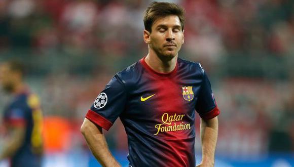 De ser hallado culpable, Messi deberá pagar una multa superior al importe defraudado. (AP)