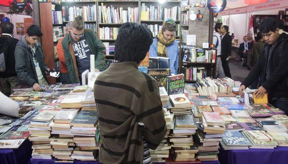 Actualmente los libros se encuentran exonerados de pagar IGV. (Foto: GEC)