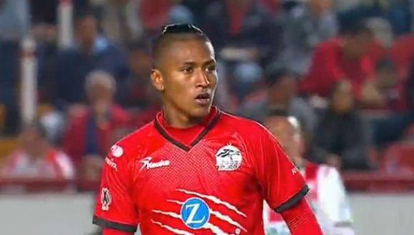Pedro Aquino fue titular con Lobos BUAP y permaneció en el campo de juego durante todo el encuentro en Aguascalientes.
