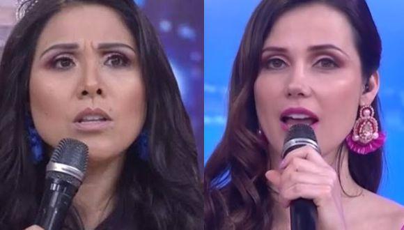 Maju Mantilla y Tula Rodríguez sorprendidas con denuncias de acoso contra Andrés Wiese (Foto: captura video)