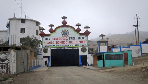 La Universidad Santo Domingo de Guzmán atiende a 477 estudiantes de pregrado. Opera hace siete años en la zona de Jicamarca, en el distrito de San Antonio de Huarochirí. (Foto: Sunedu)