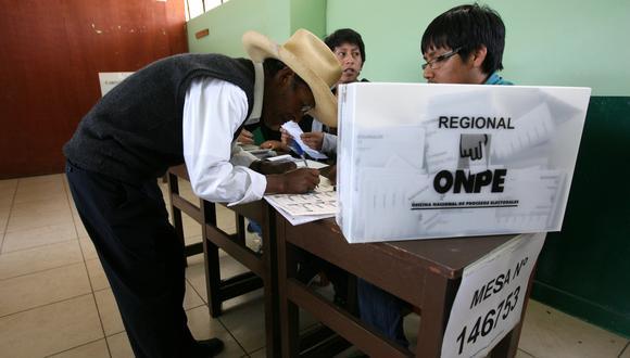 ONPE informó que el problema no podrá ser atendido. (Foto: El Comercio)
