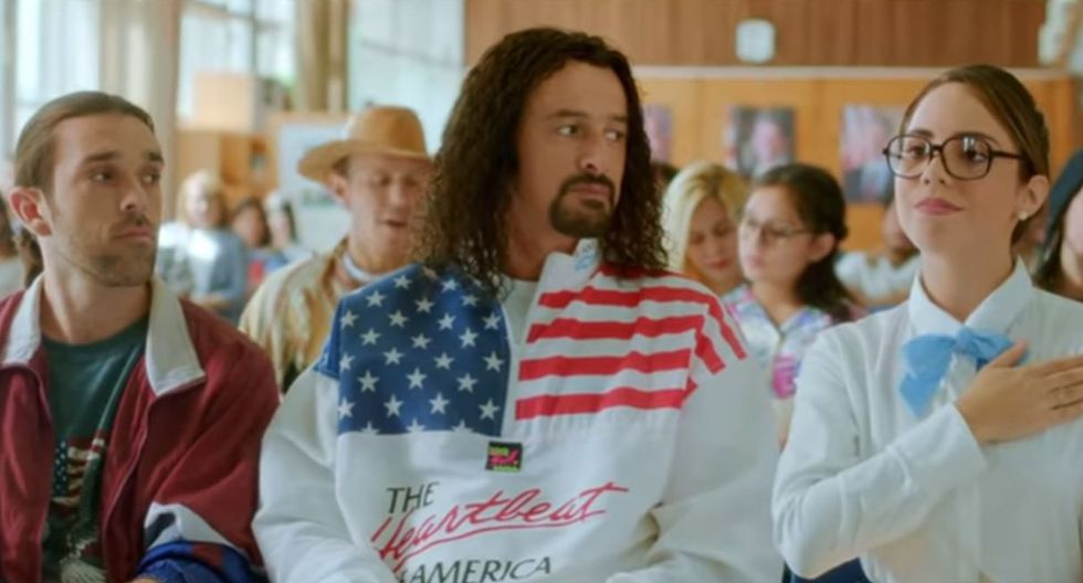 """""""Asu Mare 3"""" contará la historia de la primera vez de 'Cachín' en Estados Unidos. (Foto: Captura de video)"""