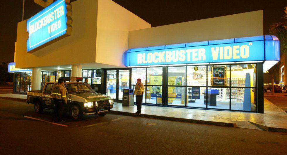 Blockbuster tuvo en su mejor época más de 10 locales en Lima. Después de 12 años de presencia en el Perú, la multinacional cerró operaciones a fines del 2006.(Foto: USI)