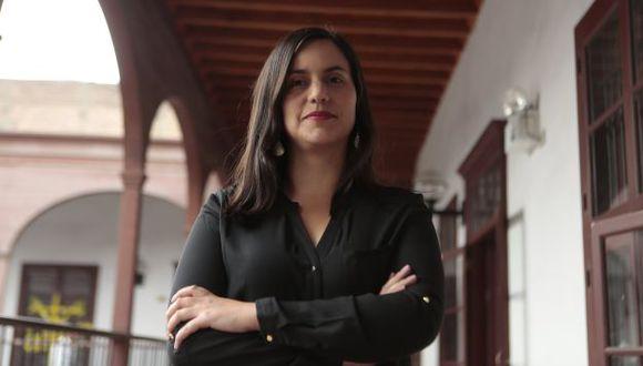 Verónika Mendoza descartó estar hipotecada a cualquier interés extranjero. (Roberto Cáceres)
