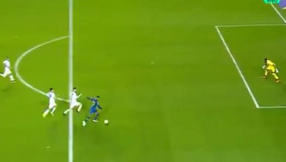 Sebastián Villa anotó su primer gol oficial con camiseta de Boca Juniors. (Foto: Captura YouTube)
