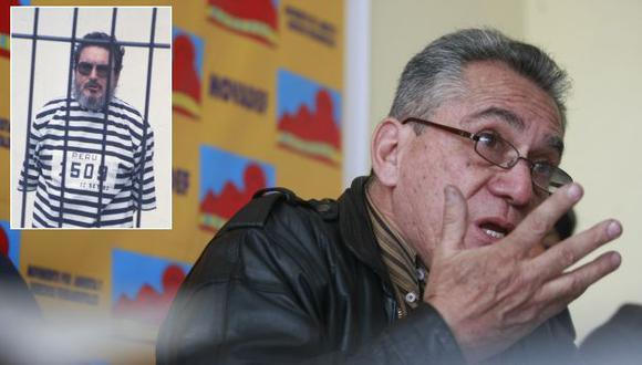 Alfredo Crespo dijo que el INPE será uno de los responsables si algo le pasa a su patrocinado. (Perú21/USI)