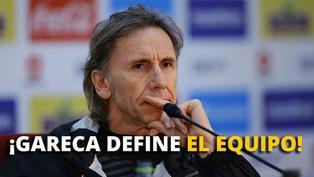 Gareca comienza a definir el once para enfrentar a Uruguay