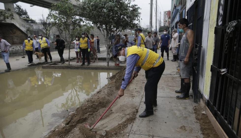 Los trabajos de limpieza continúan. (Foto: Anthony Niño De Guzmán)