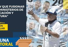 Efraín Aguilar candidato al Congreso por Renovación Popular