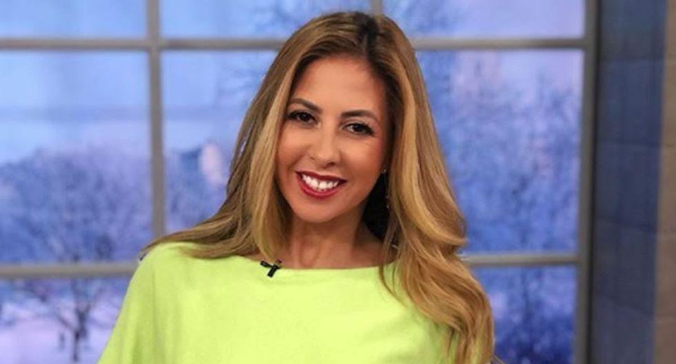 """Stephanie Himonidis ha contado que se encuentra en el momento más importante de su carrera y ser conductora del programa """"Un nuevo día"""" es algo que siempre anheló (Foto: Instagram)"""