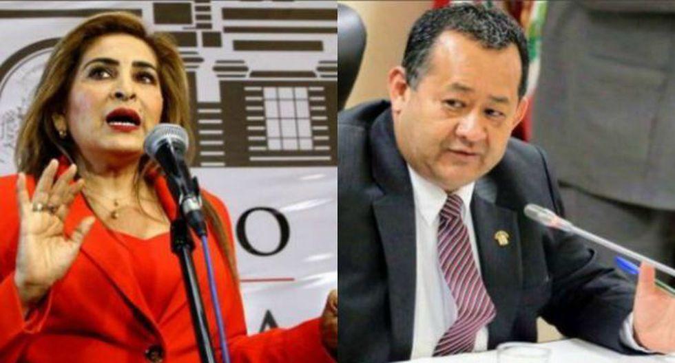 Bienvenido Ramírez y Maritza García fueron retirados de la Comisión Permanente del Congreso de la República.