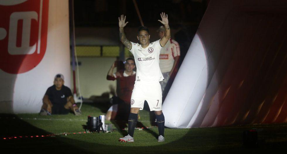 El mensaje de Alejandro Hohberg tras marcar su primer gol con Universitario de Deportes. (Foto: GEC)