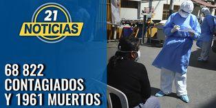 Coronavirus en Perú: 68 822 contagiados en el día 57 de la cuarentena obligatoria