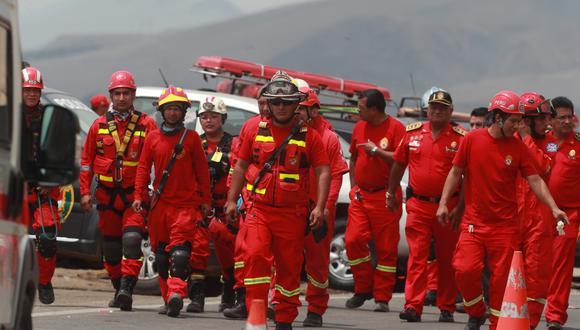 Charles Hallenbeck Fuentes asumirá el liderazgo de la Intendencia Nacional Bomberos del Perú. m(Foto: El Comercio)