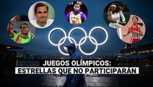 Las grandes leyendas que se pierden los Juegos Olímpicos Tokio 2020