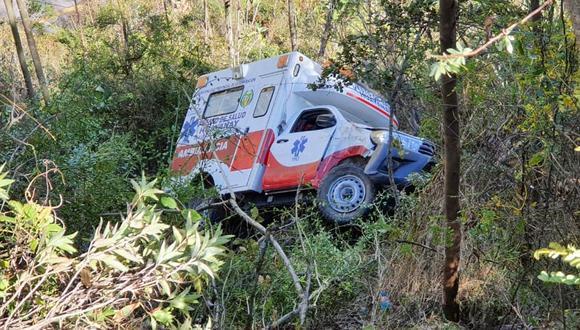 Cusco: paciente con coronavirus fallece tras despiste de ambulancia que lo trasladaba (Foto: Juan Sequeiros).