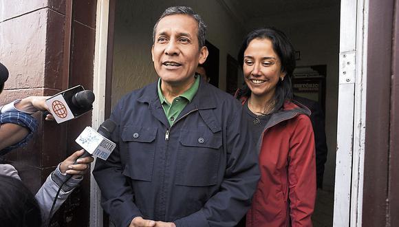 Ollanta Humala y Nadine Heredia cumplen 18 meses de prisión. (USI)