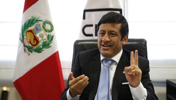 """""""En seis meses no hay una sola comunicación entre Ríos y quien habla"""", dijo el ex consejero del CNM, Guido Aguila. (USI/ Video: Justicia TV)"""