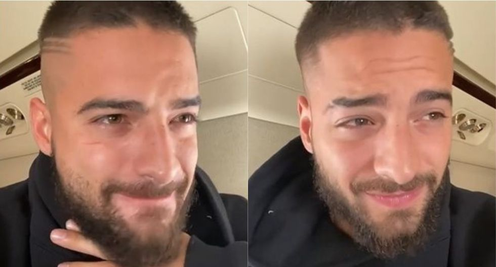 Grammy 2020: Maluma rompe en llanto tras enterarse de su nominación. (Foto: Captura de video)