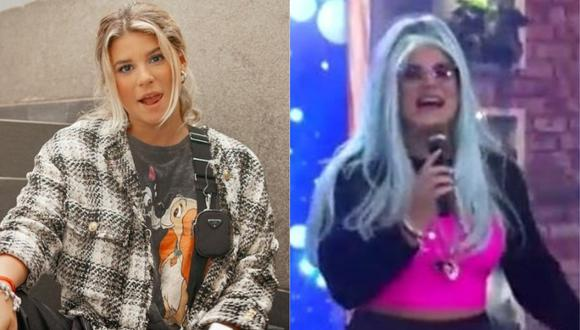 Macarena Vélez renovó su figura y ahora luce un look similar al de Karol G. (Foto: Captura de video)