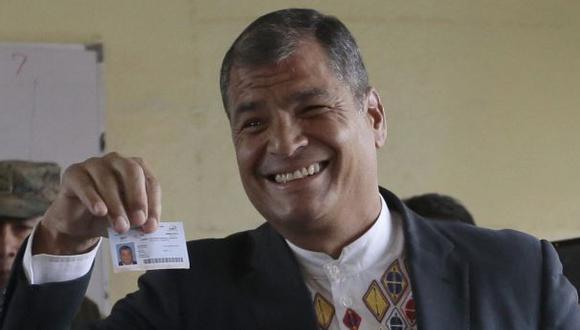 Ecuador: Rafael Correa postulará a vicepresidencia en las elecciones del próximo año. (Foto: AFP)
