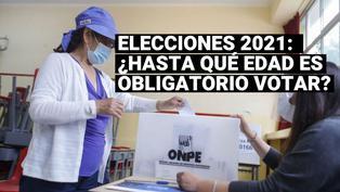 Elecciones 2021: ¿hasta qué edad es obligatorio votar el domingo 11 de abril?