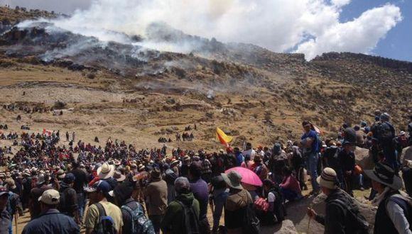 Comunidades de Las Bambas ratifican que no aceptarán tregua propuesta por el gobierno. (USI)