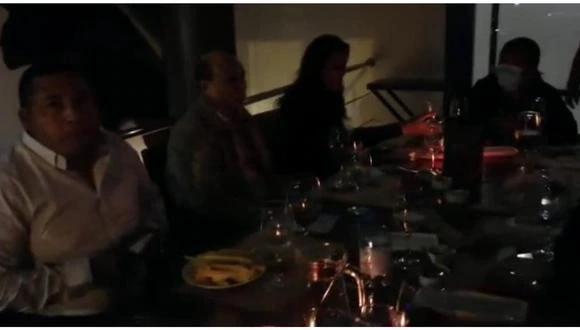 La Libertad: La prefecta regional La Libertad, Carolina Velasco, lamentó que las autoridades incumplan el horario de toque de queda y las medidas sanitarias. (Foto: Captura de video)