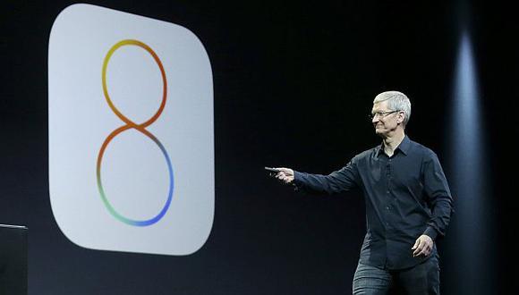 Apple: Tim Cook en la presentación inaugural de la conferencia WWDC. (AP)