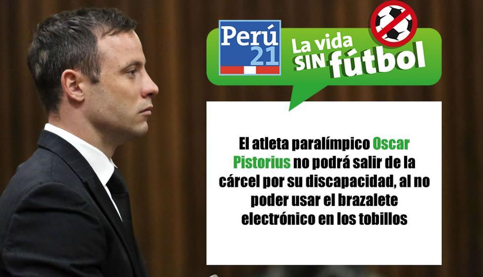 Oscar Pistorius no podrá salir de prisión. (Perú21)