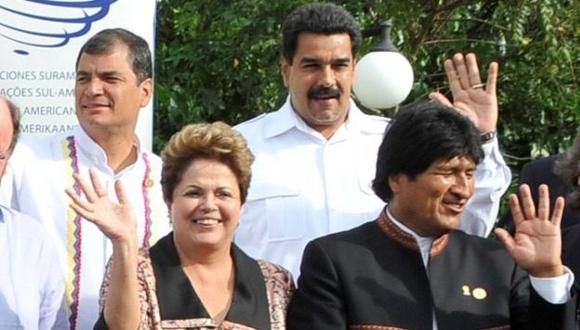Dilma Rousseff: Mandatarios de Sudamérica le expresaron su apoyo tras su destitución. (EFE)