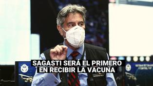 Presidente Sagasti será el primero en recibir la vacuna contra la COVID-19 en Perú