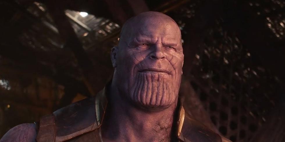"""Thanos utilizó sus últimas fuerzas para """"destruir"""" las Gemas del Infinito y así nadie pueda deshacer su plan (Foto: Marvel Studios)"""