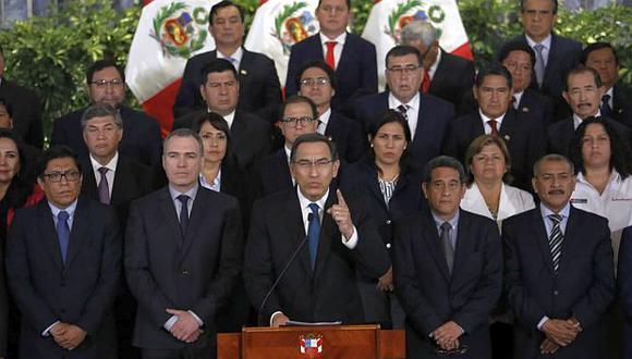 La CCL se pronunció sobre la cuestión de confianza que planteó el presidente Martín Vizcarra al Congreso. (Foto: GEC)