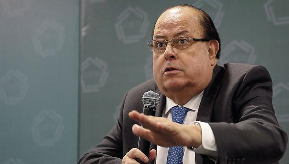 Julio Velarde continuará al frente al BCR por un nuevo período. (Foto: Yodashira Perez / GEC)