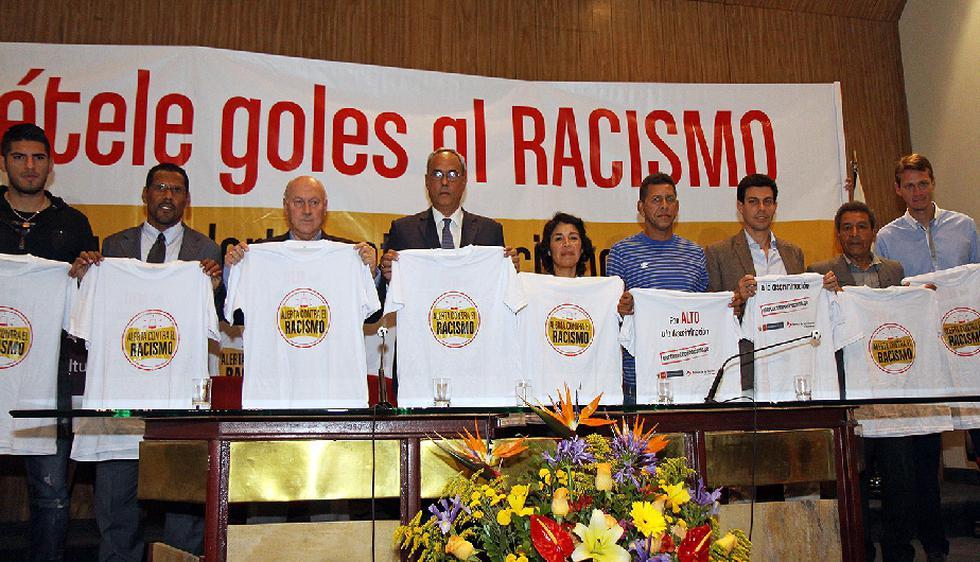 'Ponte Alerta contra el Racismo en el Fútbol' es el nombre de la campaña que emprendió el Ministerio de Cultura junto a la FPF, la ADFP y los clubes Alianza Lima, Universitario y Sporting Cristal. (Difusión)