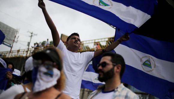 Las manifestaciones de Nicaragua comenzaron a mediados de abril para protestar contra las reformas al seguro social aprobadas por el gobierno de Daniel Ortega, del cual se pide su renuncia. (Foto: Reuters)