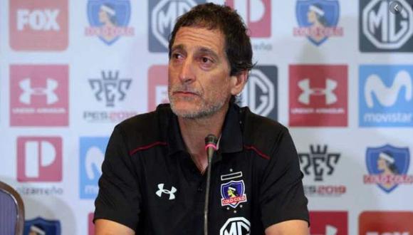 Mario Salas brindó sus primeras declaraciones como entrenador de Alianza Lima. (Foto: Colo Colo)