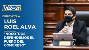 """Luis Roel: """"Nosotros defendemos el fuero del Congreso"""""""