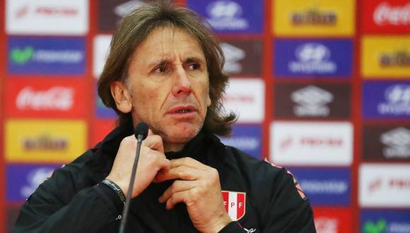 Ricardo Gareca asegura que el gobierno debe confiar en la gente del fútbol. (Foto: USI/El Comercio)