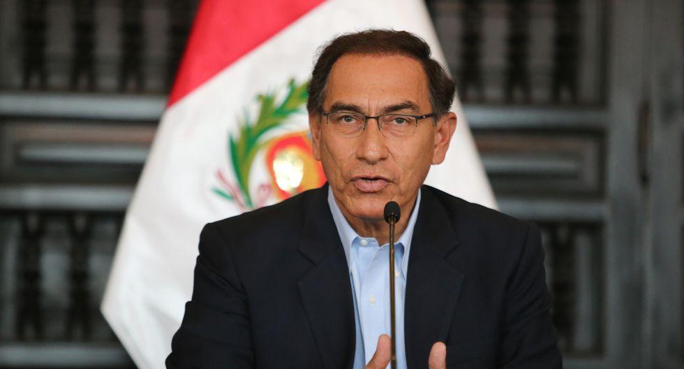 Martín Vizcarra se mostró optimista en mejorar las relaciones con la bancada Peruanos por el Kambio (Foto: GEC)