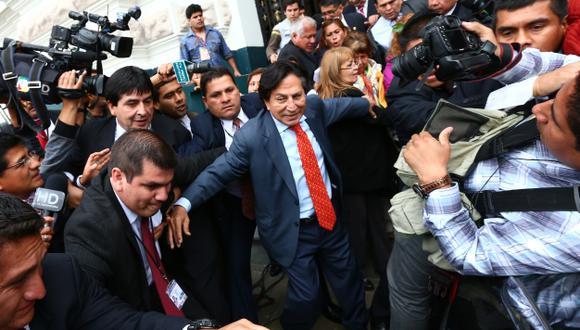En veremos. El lunes, comisión investigadora decidirá la suerte de expresidente Alejandro Toledo.  (Martín Pauca)