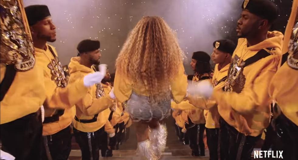 Beyoncé lanza nuevo disco y estrena documental de Netflix (Foto: Captura de pantalla)