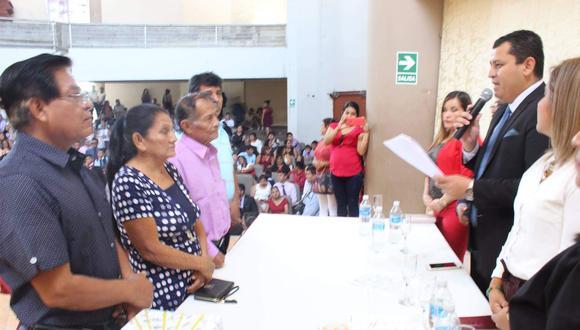 Anuncian realización del primer matrimonio civil presencial post pandemia (Foto: Municipalidad Sullana).