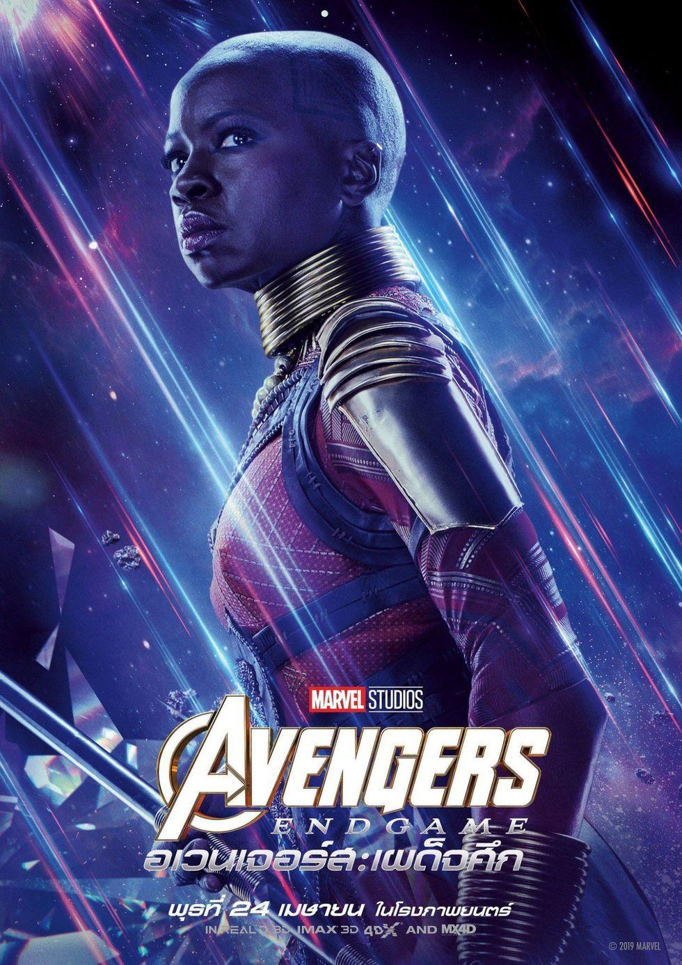 Avengers Endgame: los héroes sobrevivientes protagonizan los pósters individuales (Foto: Marvel Studios)